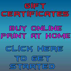 Gift Certificates for the Holidays